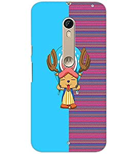 PrintDhaba Cartoon D-3739 Back Case Cover for MOTOROLA MOTO X STYLE (Multi-Coloured)