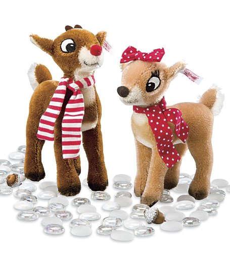 Steiff® Rudolph And Clarice Plush Collectibles front-813589