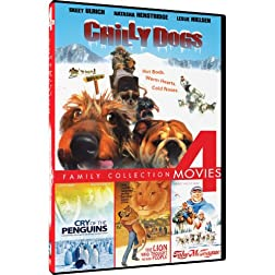 Chilly Dogs/Toby McTeague/The Lion Who Thought He Was People/Cry of the Penguins - 4-pack