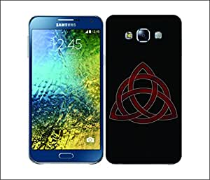 Galaxy Printed 2921 Symbolism TriangleCircle Hard Cover for Samsung S3