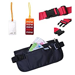 Multi-purpose Rfid Travel Wallet Bundle From Israstars That Will Keep Your Valuables Secure & Organised Order Now!