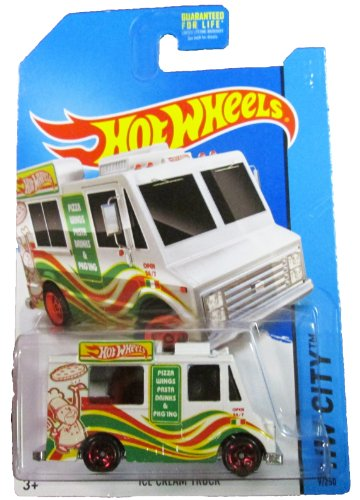Hot Wheels - 2014 HW City 9/250 - HW City Works - Ice Cream Truck - 1