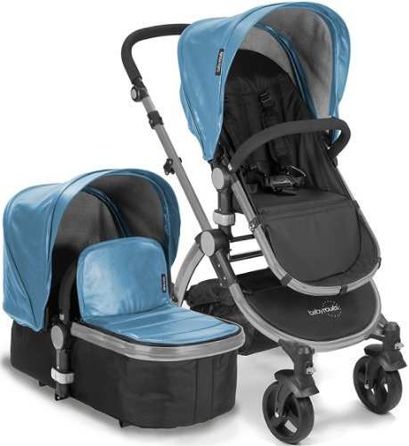 Baby-Roues-LeTour-Lux-II-BLUE-Lightweightt-Compact-Stroller-w-Bassinet