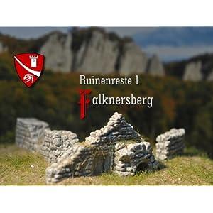 Falknersberg Ruinenreste 1, Bausatz, Spur N