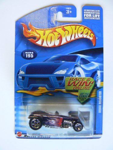 Hot Wheels 2001 Duece Roadster Race and Win Online Card, #195