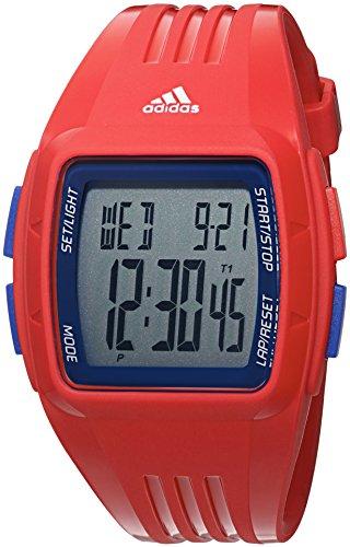 adidas Men's 'Duramo' Quartz Plastic and Polyurethane Casual Watch, Color:Red (Model: ADP3271) - 51yFJtQ 2B5WL - adidas Men's 'Duramo' Quartz Plastic and Polyurethane Casual Watch, Color:Red (Model: ADP3271)