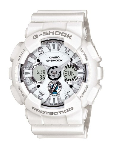 Casio Men's G-Shock White Watch GA-120A-7AER