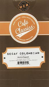Cafe Classics Coffee Pods, Decaf Colombian, 15-Count (Pack of 3)