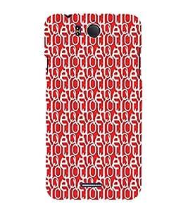 EPICCASE confused love Mobile Back Case Cover For InFocus M530 (Designer Case)