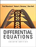 img - for Differential Equations 2nd Edition (Second Edition) by Blanchard, Devaney & Hall book / textbook / text book