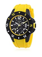 Guess Reloj de cuarzo Man Amarillo 49.0 mm