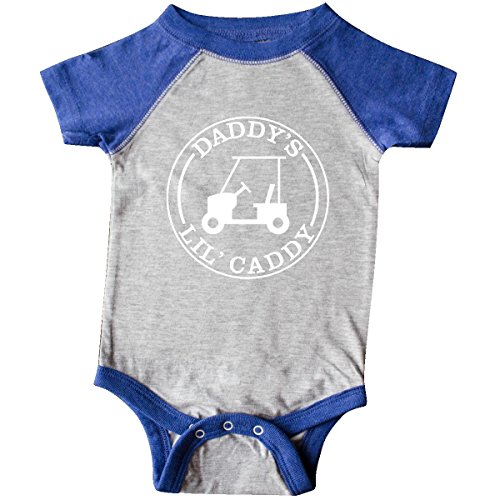 inktastic-unisex-baby-daddys-lil-caddy-infant-creeper-6-months-heather-and-royal