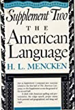 Image of American Language Supplement 2 (American Language No. 1)