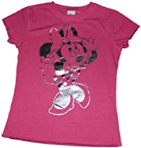 Disney Minnie Mouse Reversable In/Out Girls T-shirt (6X)