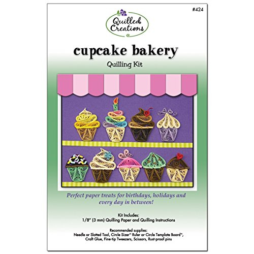 Quilled Creations Cupcake Bakery Quilling Kit (Quilling Kits Cupcake Bakery compare prices)