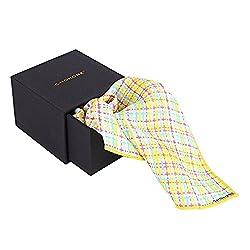 Chokore Multicolour Checks Silk Men's Pocket Square Plaids line