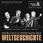 Bedeutende Personen der Weltgeschichte: Thomas Mann / Albert Schweitzer / Konrad Adenauer / Albert Einstein   Stephan Lina