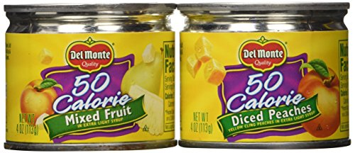 Del Monte Lite Fruit Cups Variety - 24/4 oz. (Fruit Cans compare prices)