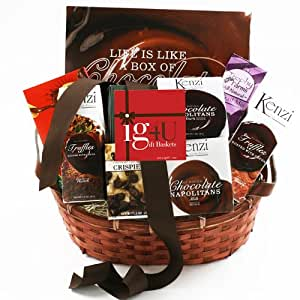 Chocolate Sampler Gift Basket by ig4U