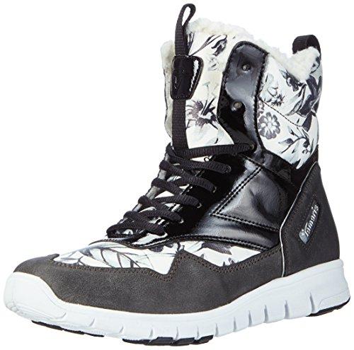 Tamaris26299 - Sneaker donna , Multicolore (Mehrfarbig (Black Comb 098)), 42