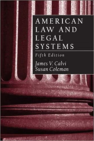 American Law and Legal Systems (5th Edition)