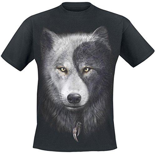Spiral Wolf Chi T-Shirt nero XXL