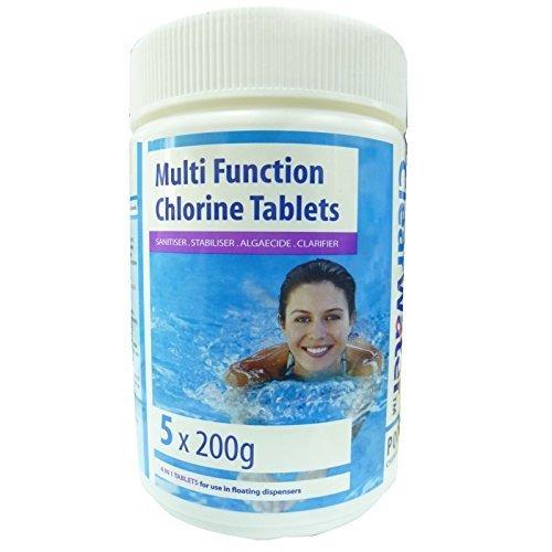 clearwater-multi-funktion-chlortabletten-5x200g-garten-pool-jacuzzi-whirlpool-spa-chemikalien-behand
