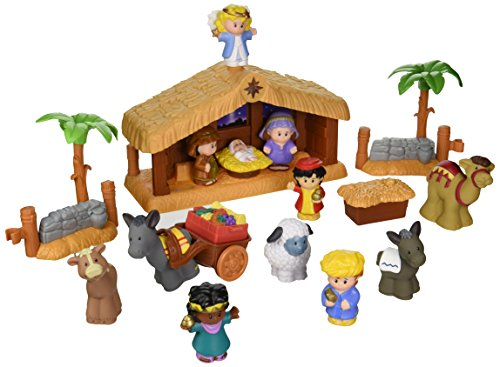 #Nativity Sets for Kids - Fisher-Price Little People A Christmas Story