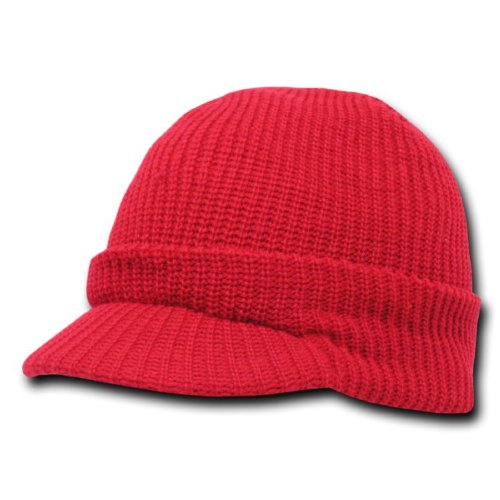 Decky Gi Jeep Cap, Red