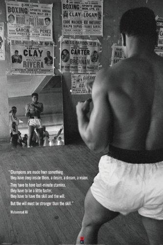 Muhammad Ali (Palestra) Poster