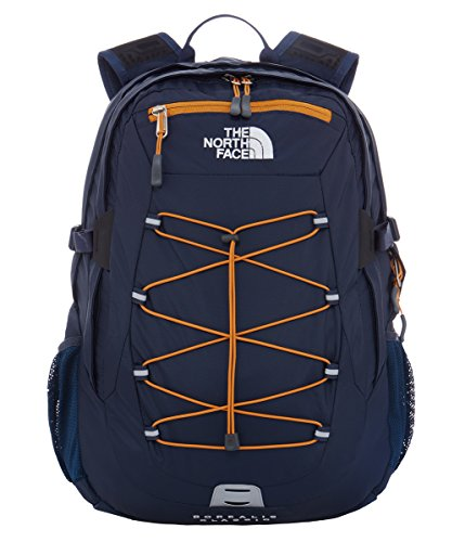 North Face Borealis Classic Zaino, Blu (Urban Navy/Citrine Yellow), Taglia Unica