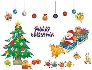 Createforlife wallpaper home decoration wall art fashion for Christmas wall art amazon