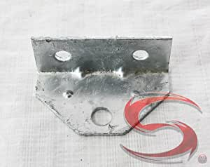 """SWIVEL ANGLE BRACKET 2"""" CENTER, Manufacturer: C.E. SMITH, Manufacturer Part Number: 10201G-AD, Stock Photo - Actual parts may vary."""