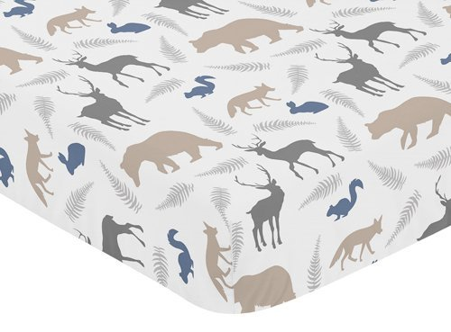 sweet-jojo-designs-fitted-crib-sheet-for-woodland-animals-baby-toddler-bedding-set-collection-animal