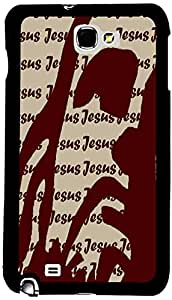 PrintVisa Religious Jesus Case Cover for Samsung Galaxy Note 1
