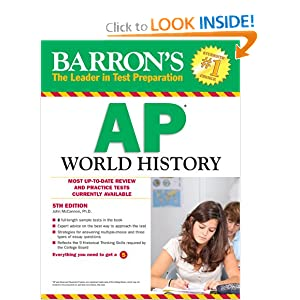 Barron's AP World History, 5th Edition by