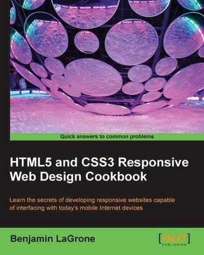 HTML5 and CSS3 Responsive Web Design Cookbook