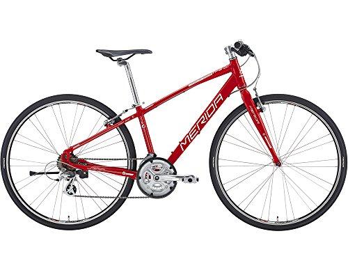 メリダ(MERIDA) 16'CROSSWAY BREEZE TFS 100-R (SHIMANO 3x7) クロスバイク (ER01)F-レッド 41cm AMC1416