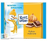 Ritter Sport Winter Creation Limited Edition Coconut Macaroon - Pack of 3