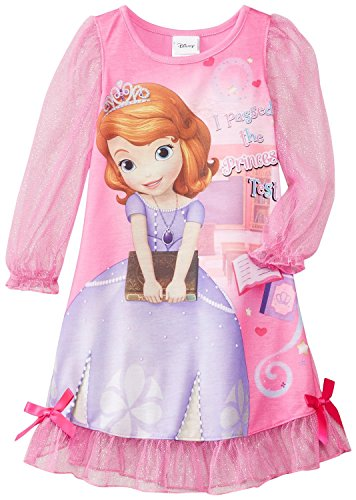 Disney Little Girls'  Sofia The First Costume Sleep Gown, Pink, 3T (Sofia The First Clothes compare prices)