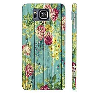 Samsung Alpha G850F Floral Splash designer mobile hard shell case by Enthopia