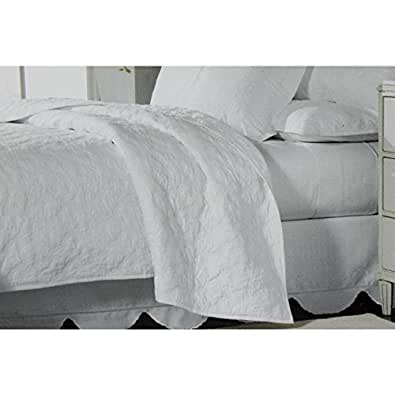 Amazon.com: Martha Stewart Collection Bedding, Trousseau Ivy Full