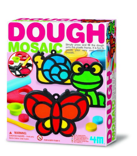 4M Dough Mosaic  Garden Kit - 1