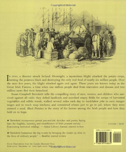 an overview of the dark history of the irish potato famine All about reviews: black potatoes: the story of the great irish famine, 1845-1850 by susan campbell bartoletti librarything is a cataloging and.
