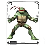 Teenage Mutant Ninja Turtles Raphael Hard Back Protection Cover Case for The New iPad 2 3 4 iMCA-CP-7930 Apple i Pad Tablet PC Housing