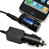 Premium Rapid Rapid Automobile Car Charger FM Radio Adapter Transmitter For Apple iPod / iPhone / iTouch / Nano / iPad