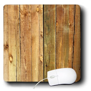 3dRose LLC 8 x 8 x 0.25 Inches Mouse Pad, Photo of Large Wooden Planks (mp_100381_1)