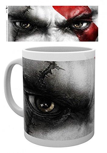 God Of War - Kratos Eyes Tazza Da Caffè Mug (9 x 8cm)