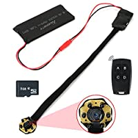 Toughsty™ 8GB 1920x1080P HD Portable Module Mini Hidden Camera Motion Activated DV Camcorder Support 13 Hours Continuous Video Recording