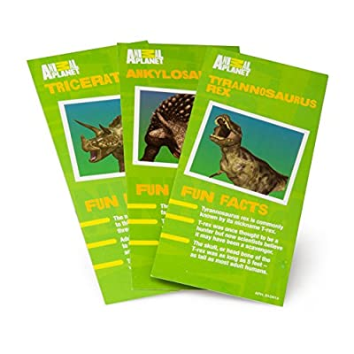 Animal Planet Grow Eggs- Dinosaur - Hatch and Grow Three Different Super-Sized Dinos (Series 1) by Animal Planet